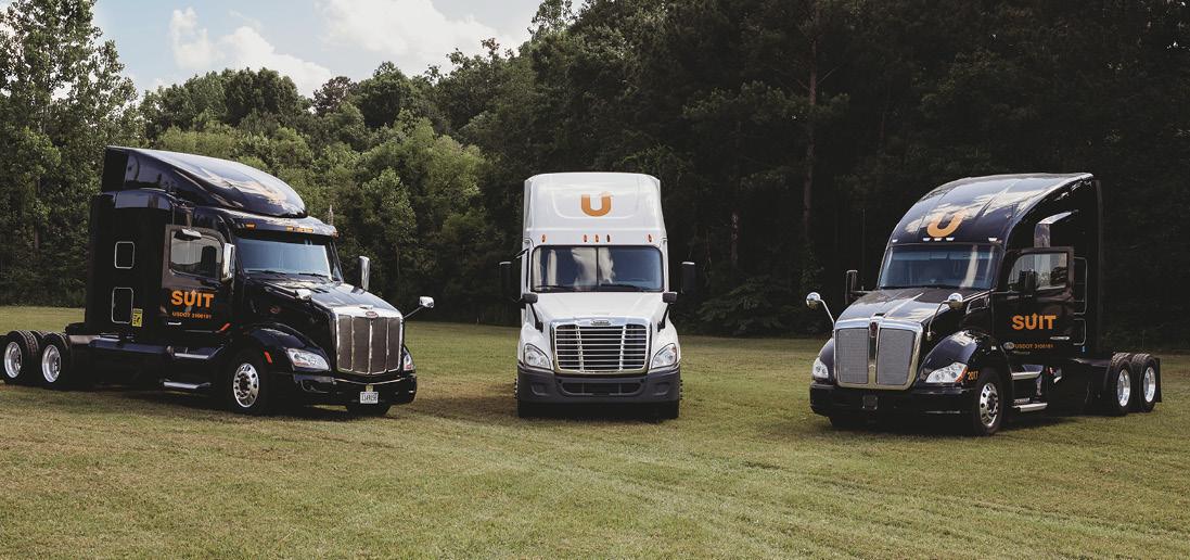 Three Suit trucks