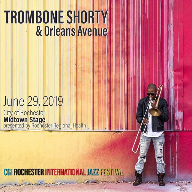 9:00 FREE SHOW TONIGHT!!!  Who's coming?  Parcel 5  Downtown Rochester  See you there!!!  ・・・  #RIJF #CGIRocJazzFest #RocJazzFest #CGIRIJF #RIJF2019 #RIJF18thEdition #CGIRocJazzFest2019 #Jazz #WesternNY #Roc #Rochester #RochesterNY #DowntownRoc #UpstateNY #RocMusic #LiveMusic #UpstateNYMusic #FreeMusic #FreeConcert #FreeLiveShow #CityofRochester #RochesterRegionalHealth