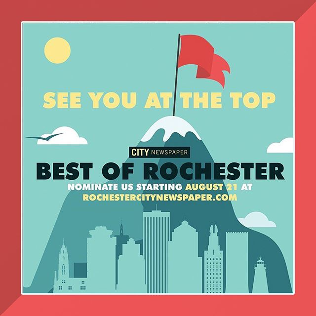 It's Primary Ballot Best of Rochester time! CITY's annual reader-guide is made up of 100 categories based on what YOU – the reader – thinks of all things Rochester and beyond. The ballot is open until 5 p.m. on Friday, September 13, online only. Write in your favorites in at least 30 categories in order for your ballot to count. When this round is over, the top four contestants in each category advance to the final. If you really like us, please consider nominating the Rochester Jazz Fest in category no. 88.[Best Local Music Festival]. Then, from Sept 25th through Oct. 16th cast your vote on each category's top four most-submitted nominations. Final results will be published Oct. 23rd. Find the link to online poll in our profile!  #rochesterny #roccitynews #wxxinews #bestofrochester #bestofrochester2019 #altweekly #alternativenews #RIJF #CGIRocJazzFest #RocJazzFest #CGIRIJF #Jazz #Festival #WesternNY #Roc #Rochester #RochesterNY #DowntownRoc #UpstateNY #RocMusic #LiveMusic #UpstateNYMusic #CityofRochester