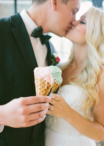 Grab some ice cream! - Especially with the weather warming up, ice cream is always a great idea to indulge in! To make it fun, order each other's flavors! See if you know your spouse's favorite, or surprise them with something new! Grab a cone and enjoy a nice stroll together!