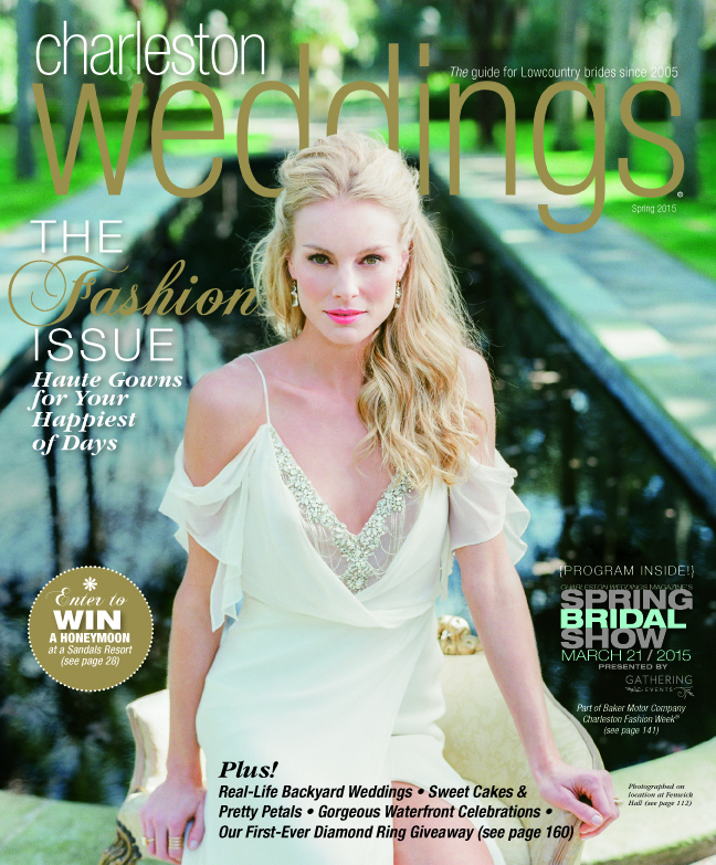 Ashley Nicole Events, Charleston Weddings Magazine