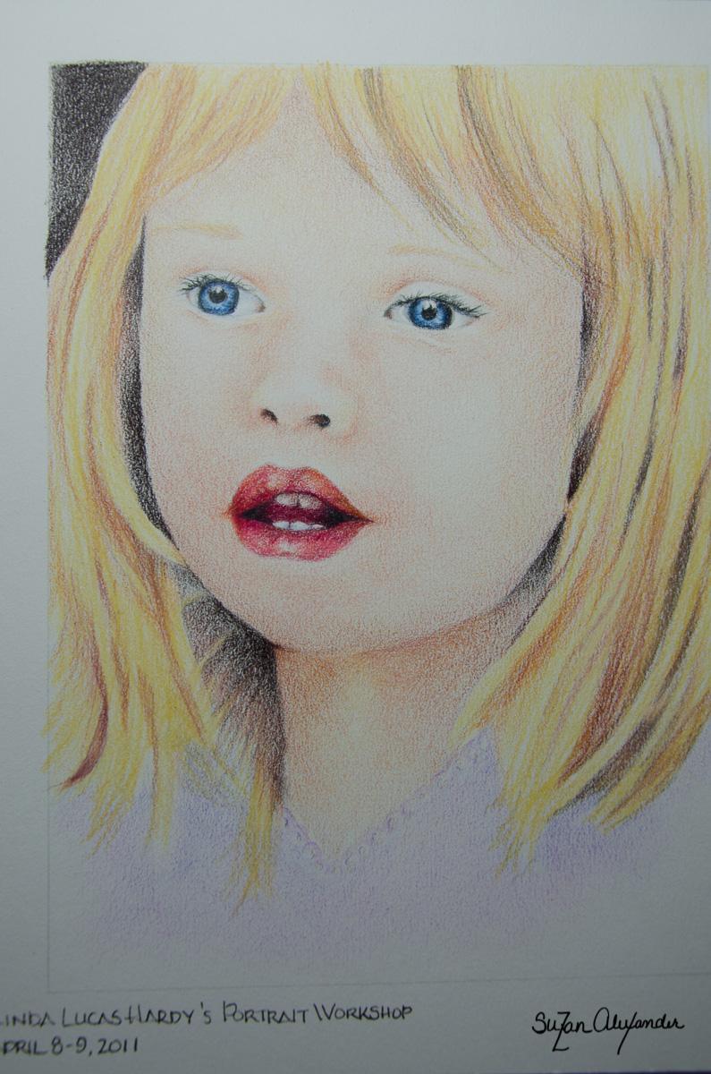 2011 Colored Pencil Portrait