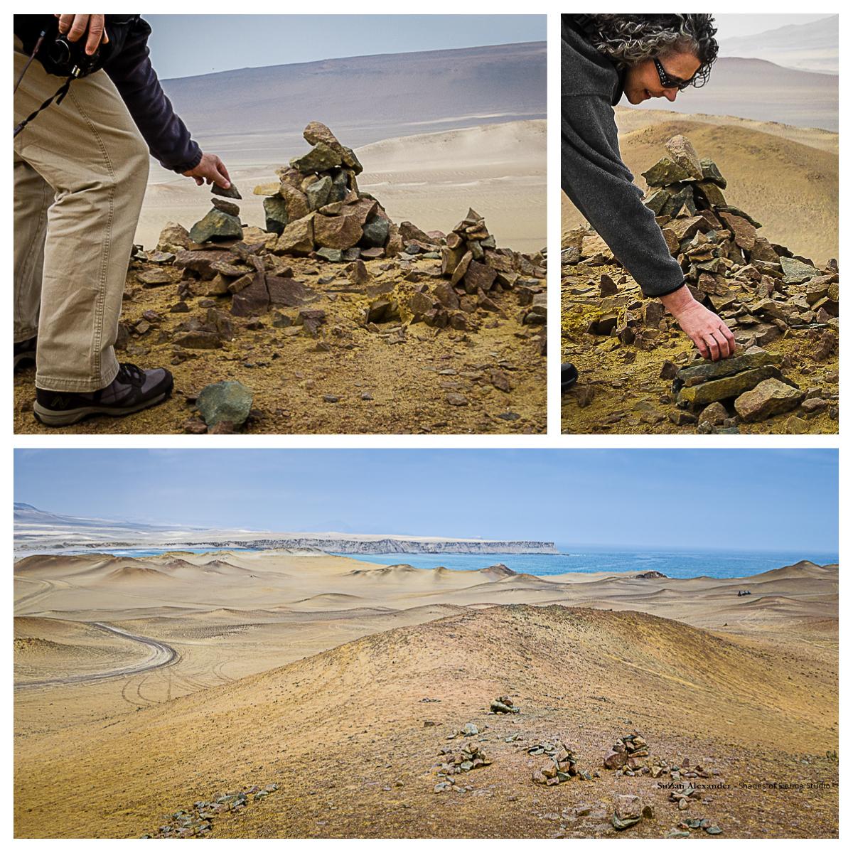Apacheta Collage, Digital Photography, Copyright © 2015 SuZan Alexander