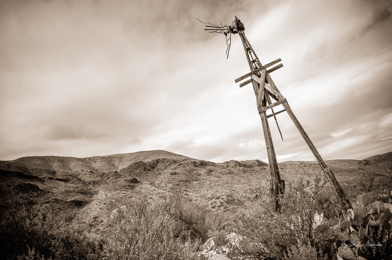 Texas Big Bend Windmill