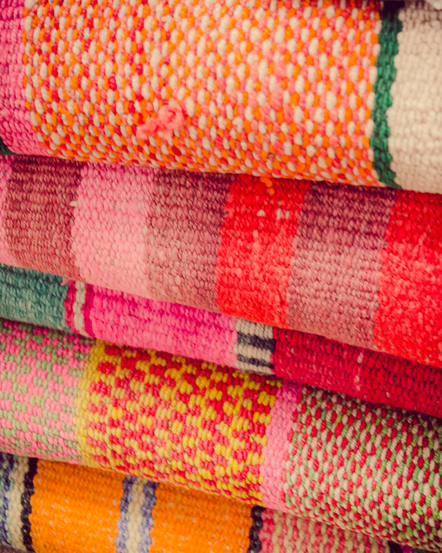 Textiles at the Market - 2 (Peru)