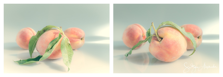 © 2018 SuZan Alexander,   Peaches Collage  . Digital Photography