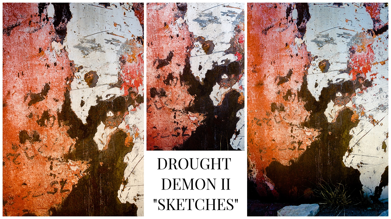 "© 2017 SuZan Alexander.   Drought Demon II ""Sketches""  . Digital Photography."