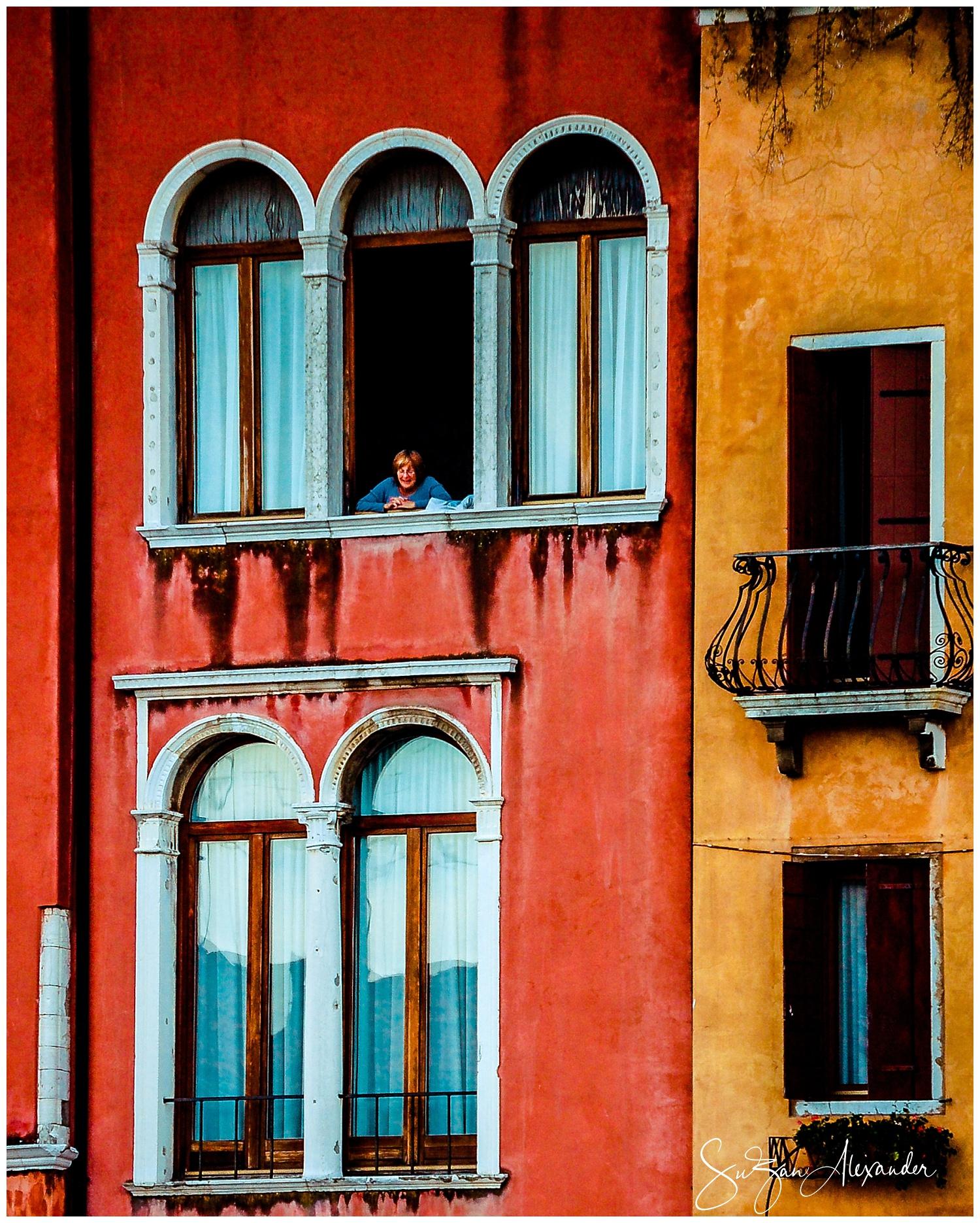 © 2010 SuZan Alexander,   Venice: Hello Down Below  . Digital Photography.