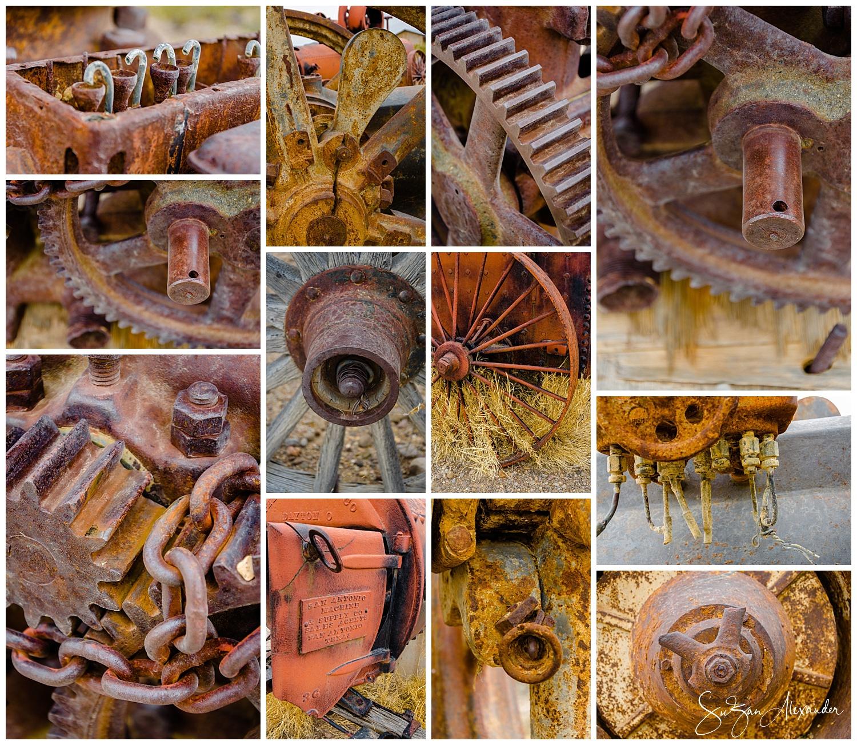 © 2018 SuZan Alexander. Castolon Historic Area Farm Equipment. Digital Photography