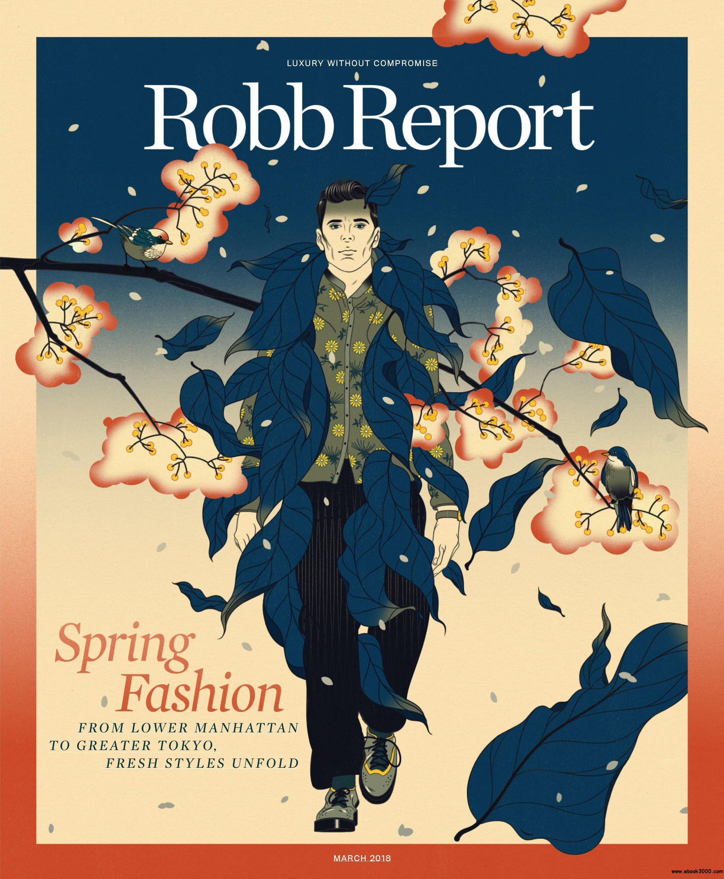 Robb Report Magazine Cover