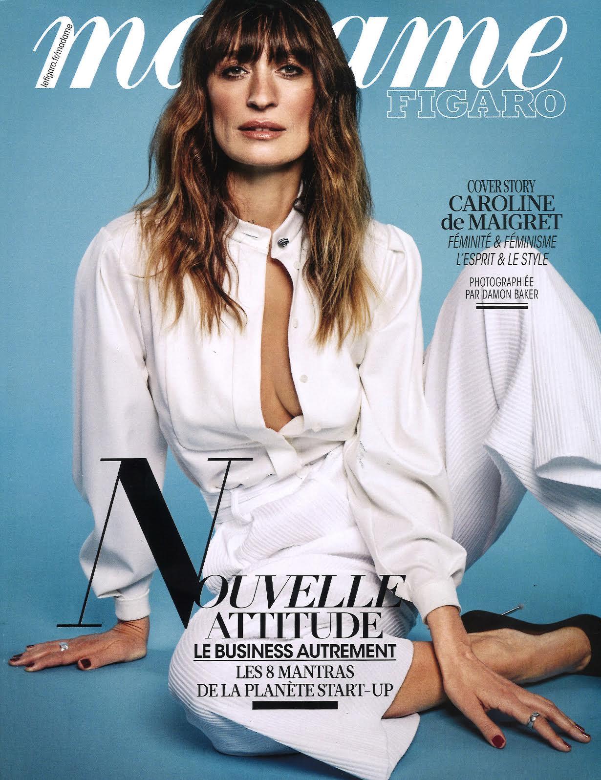 Madame Figaro Magazine Cover