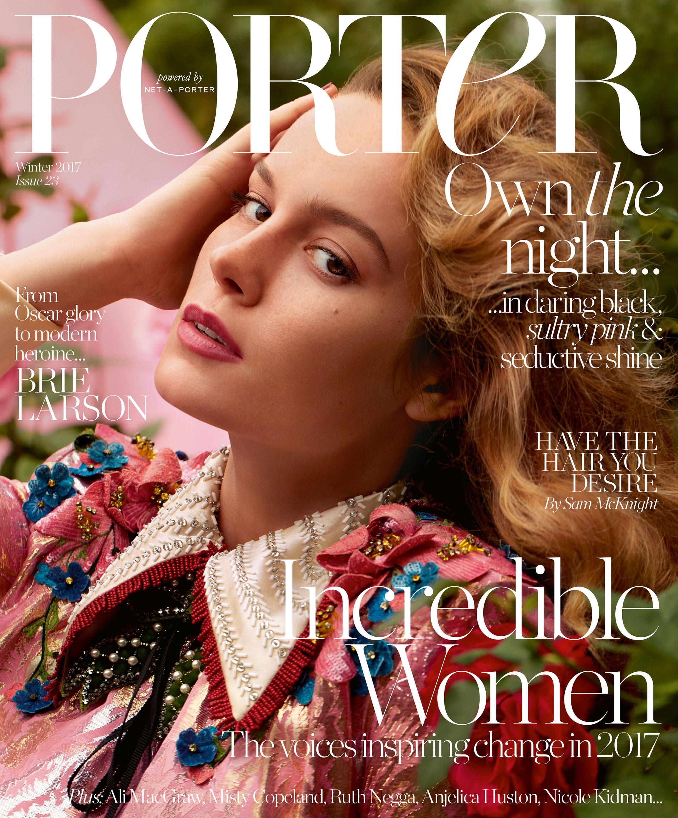 Porter Magazine Cover