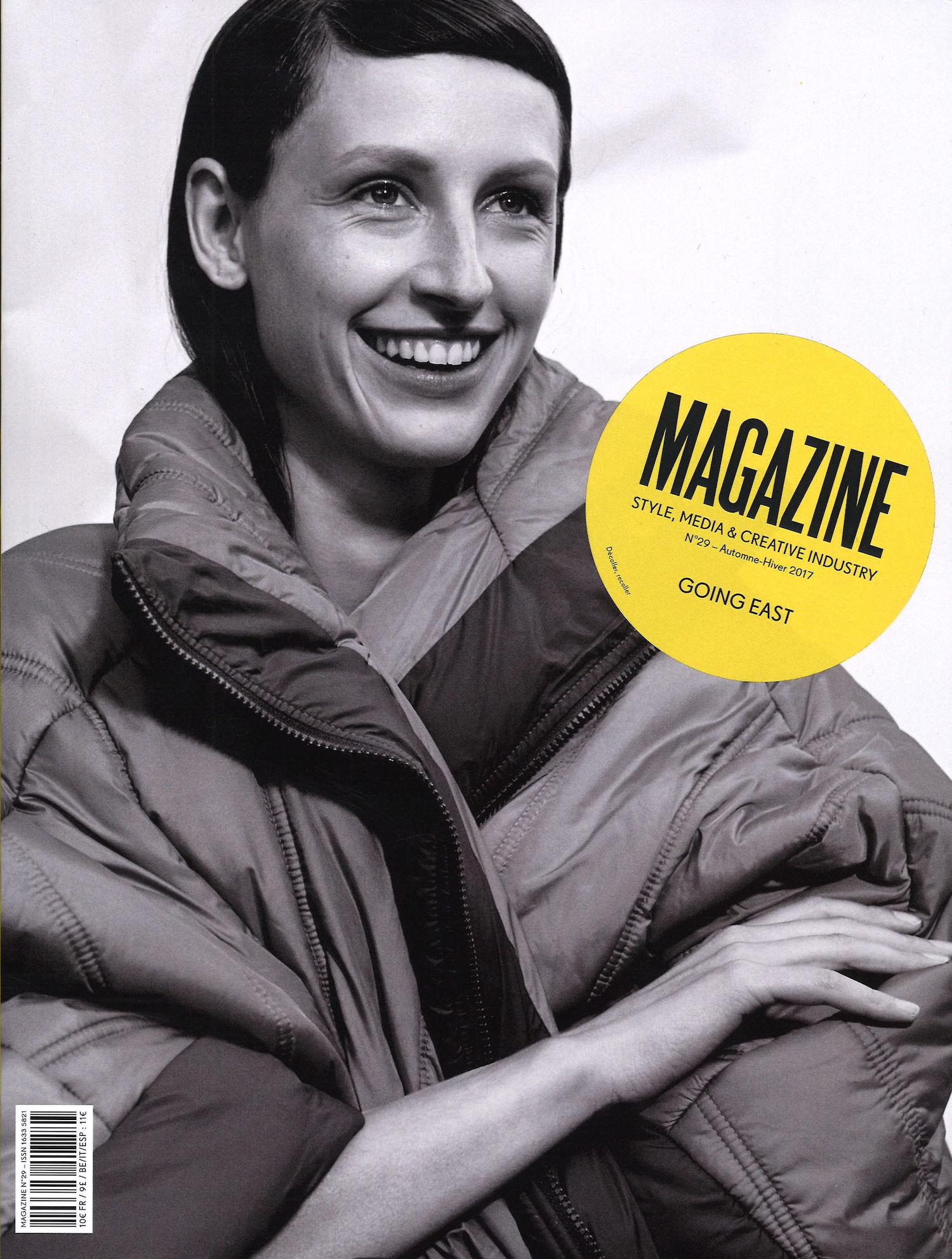 Magazine Magazine Cover