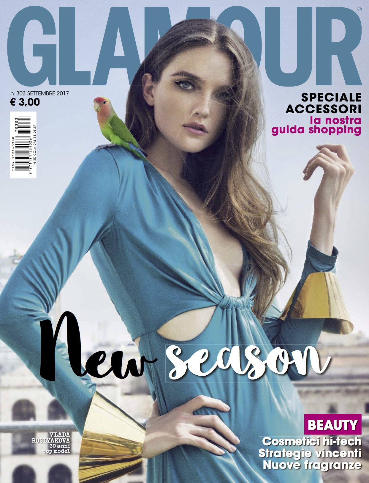 Glamour Italy Cover