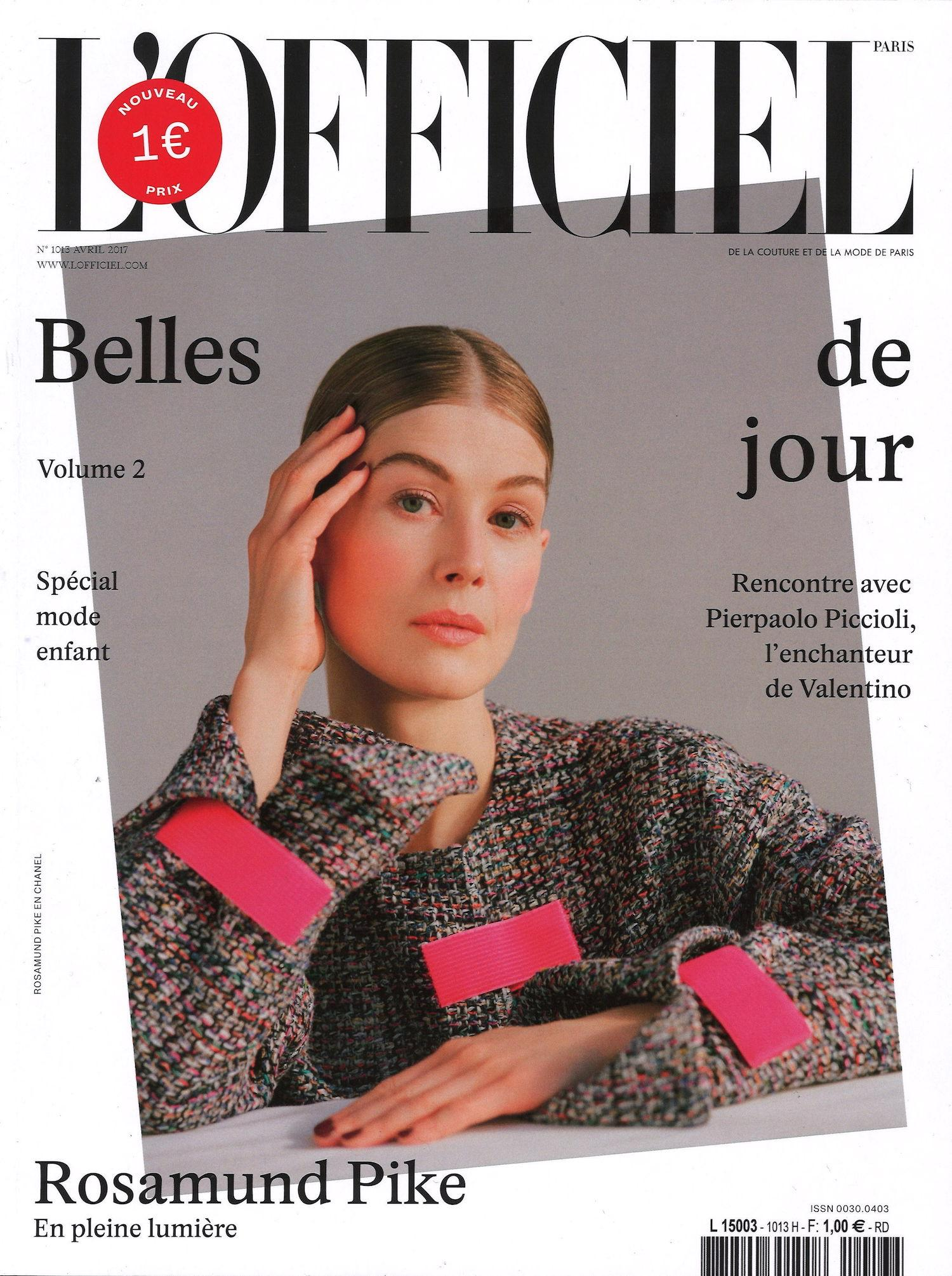 L'Officiel Cover