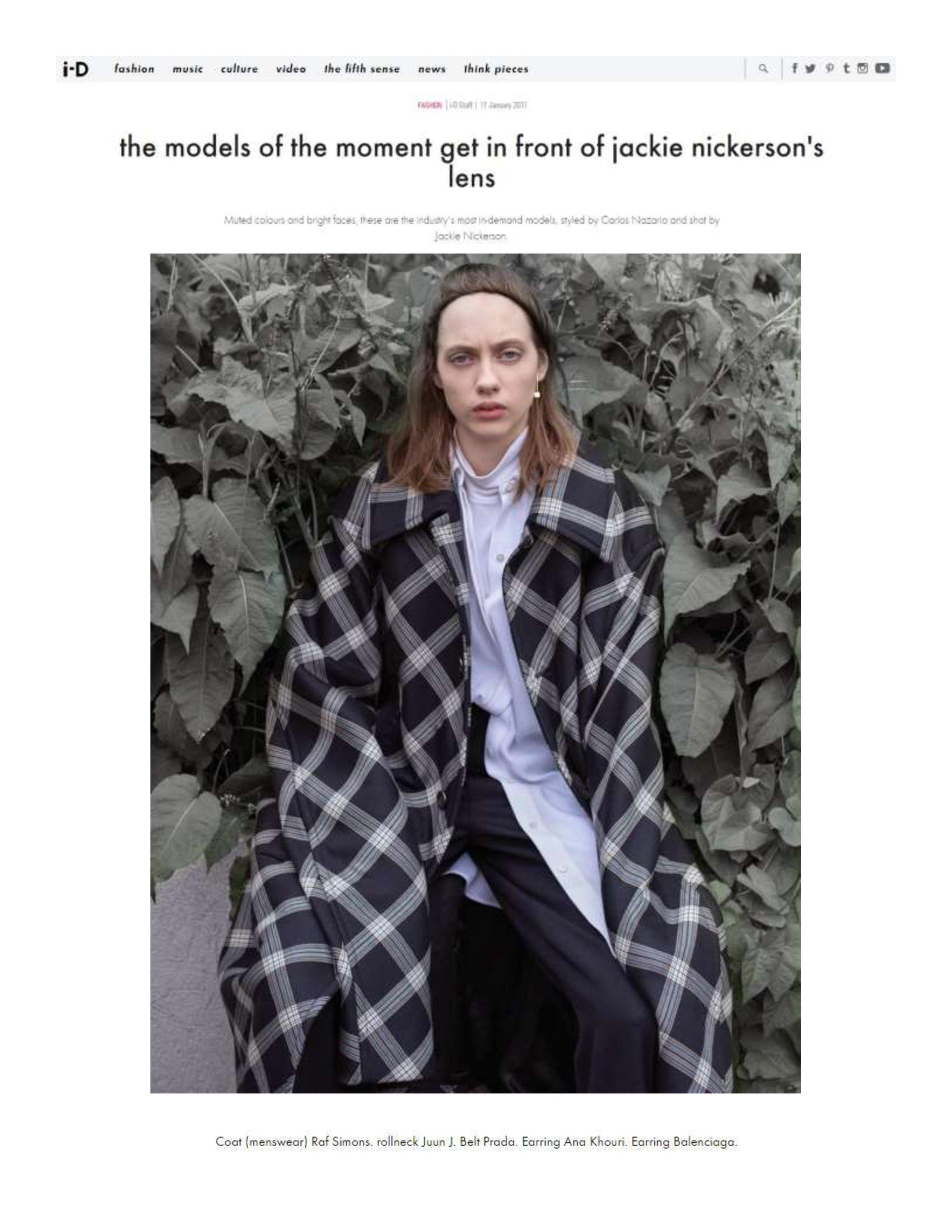 i-D Magazine Online