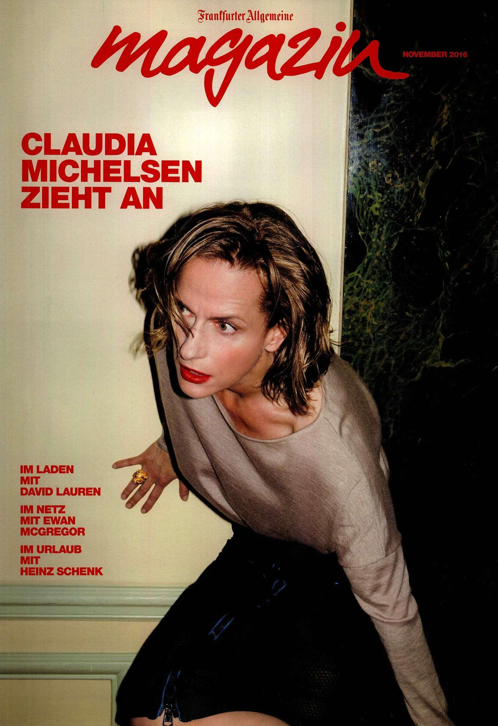 Frankfurter Allgemeine Magazin Cover