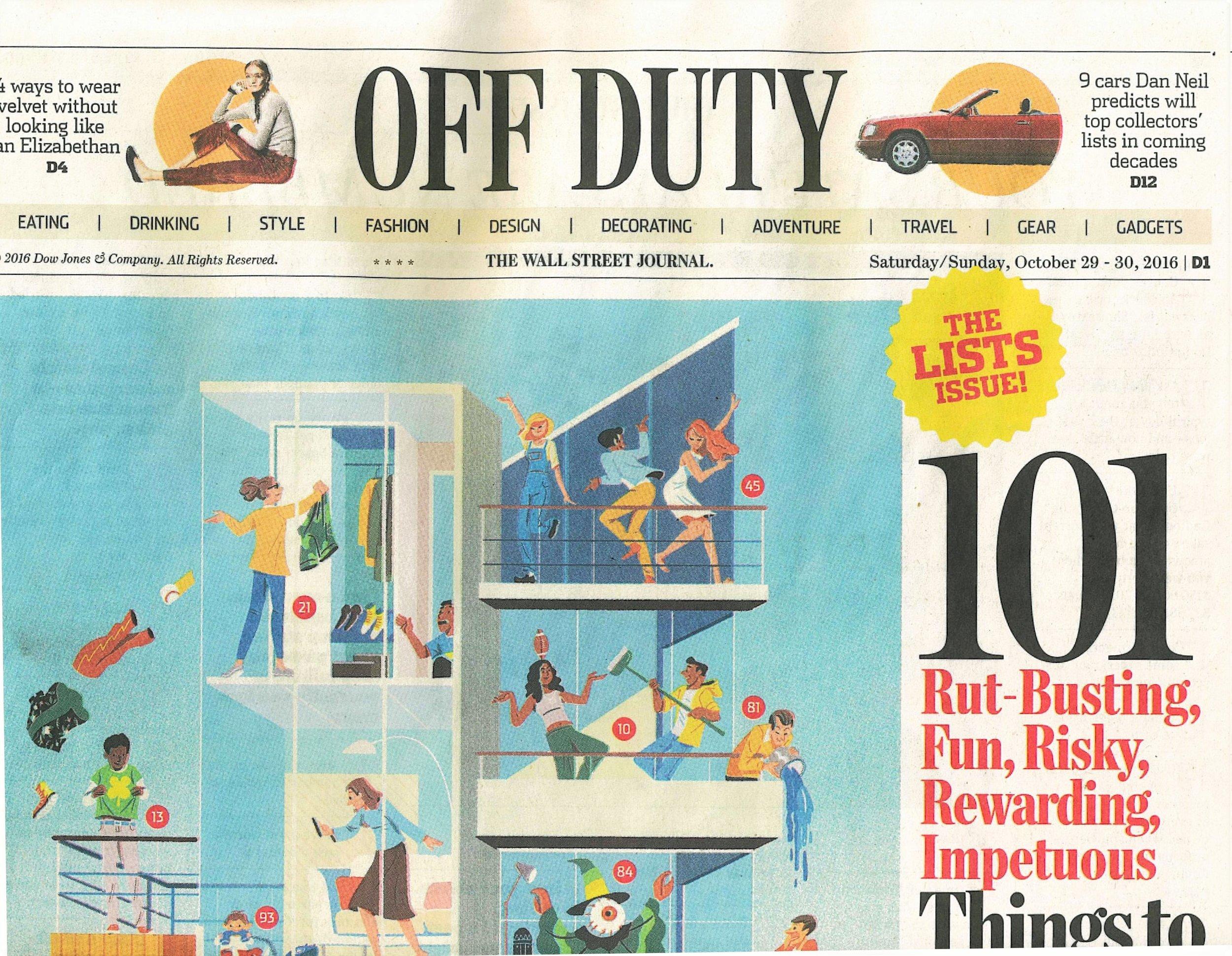 Wall Street Journal | Off Duty
