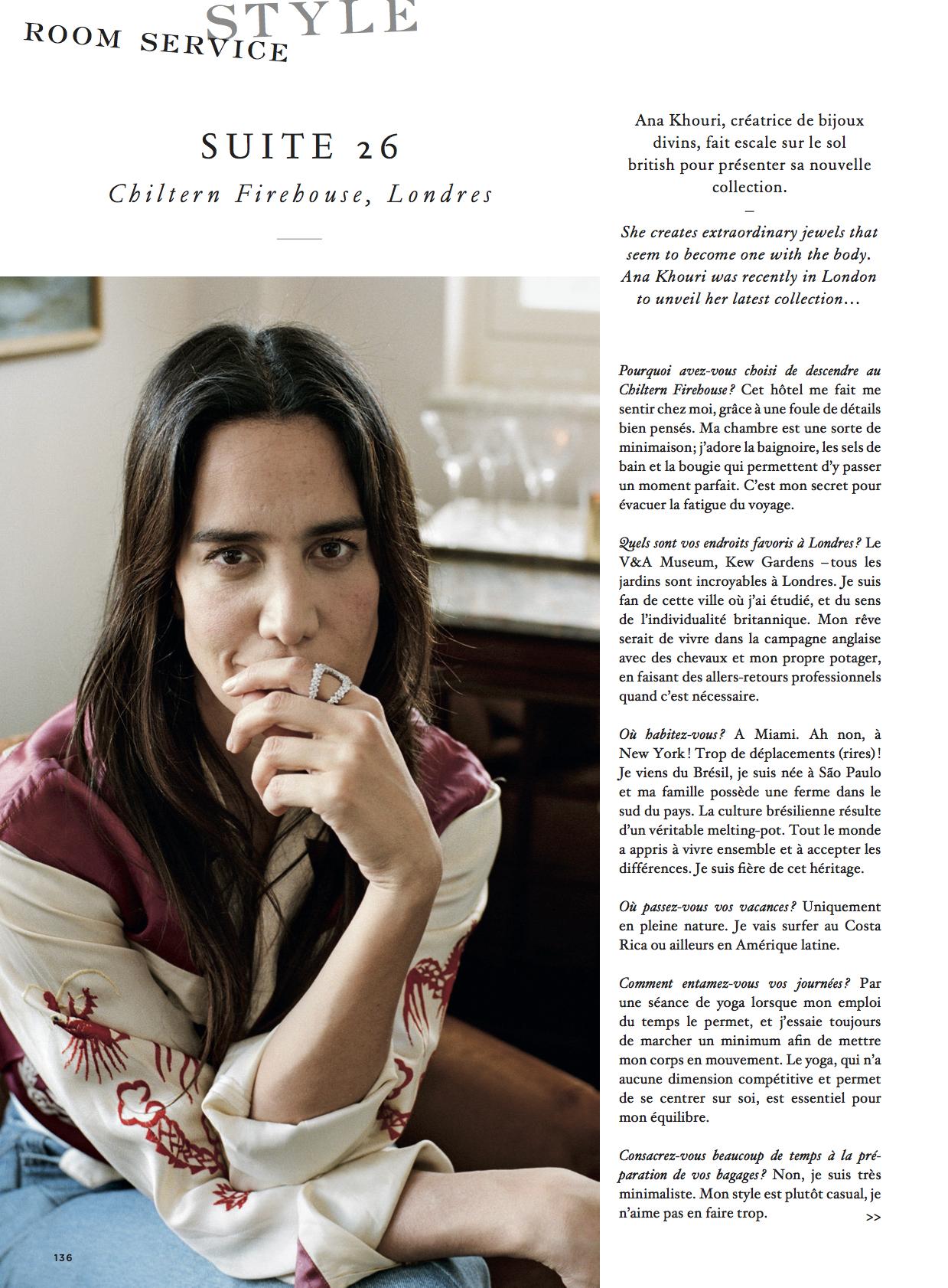 Ana Khouri in Air France Madame