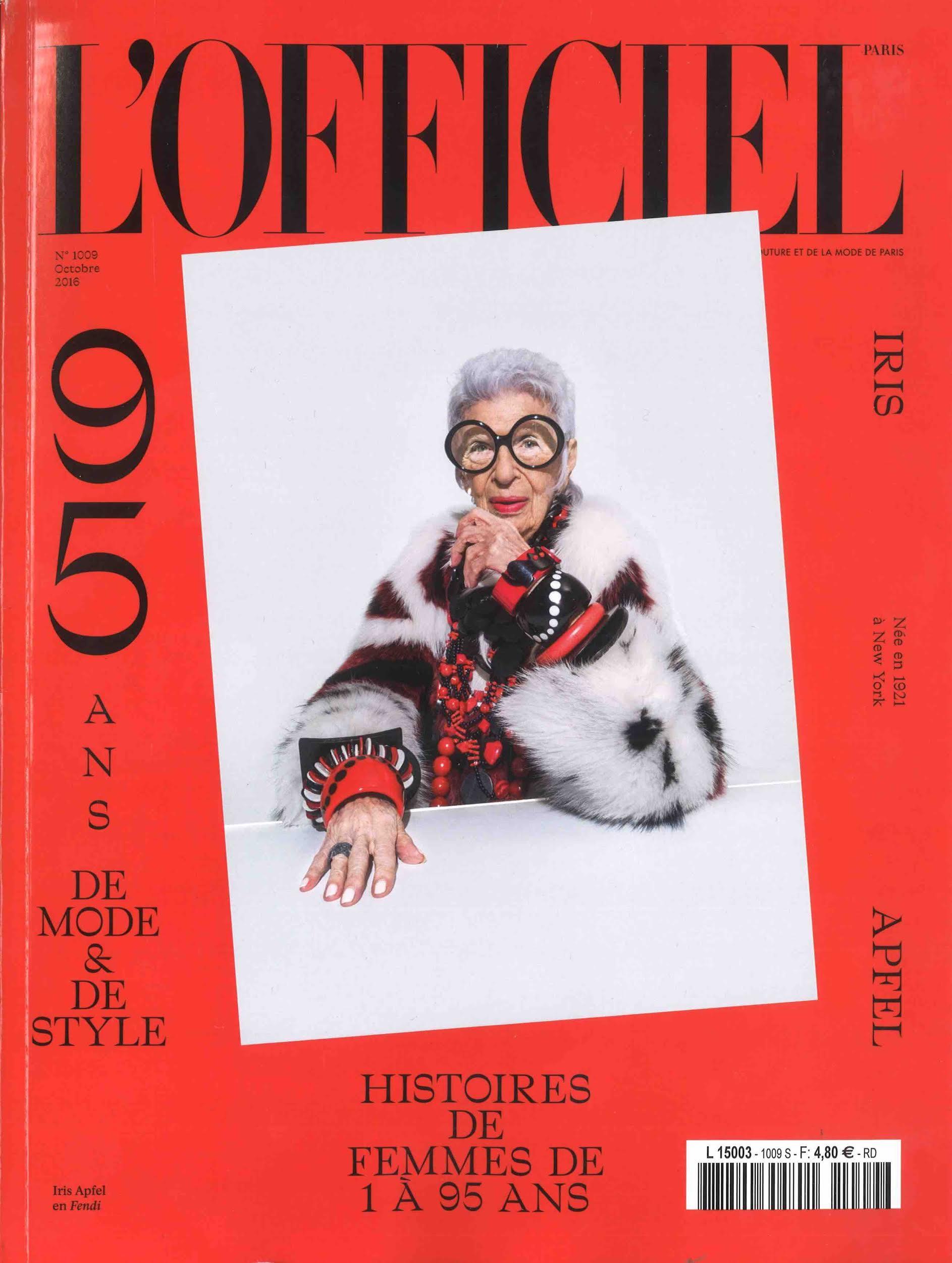 L'Officiel France Cover