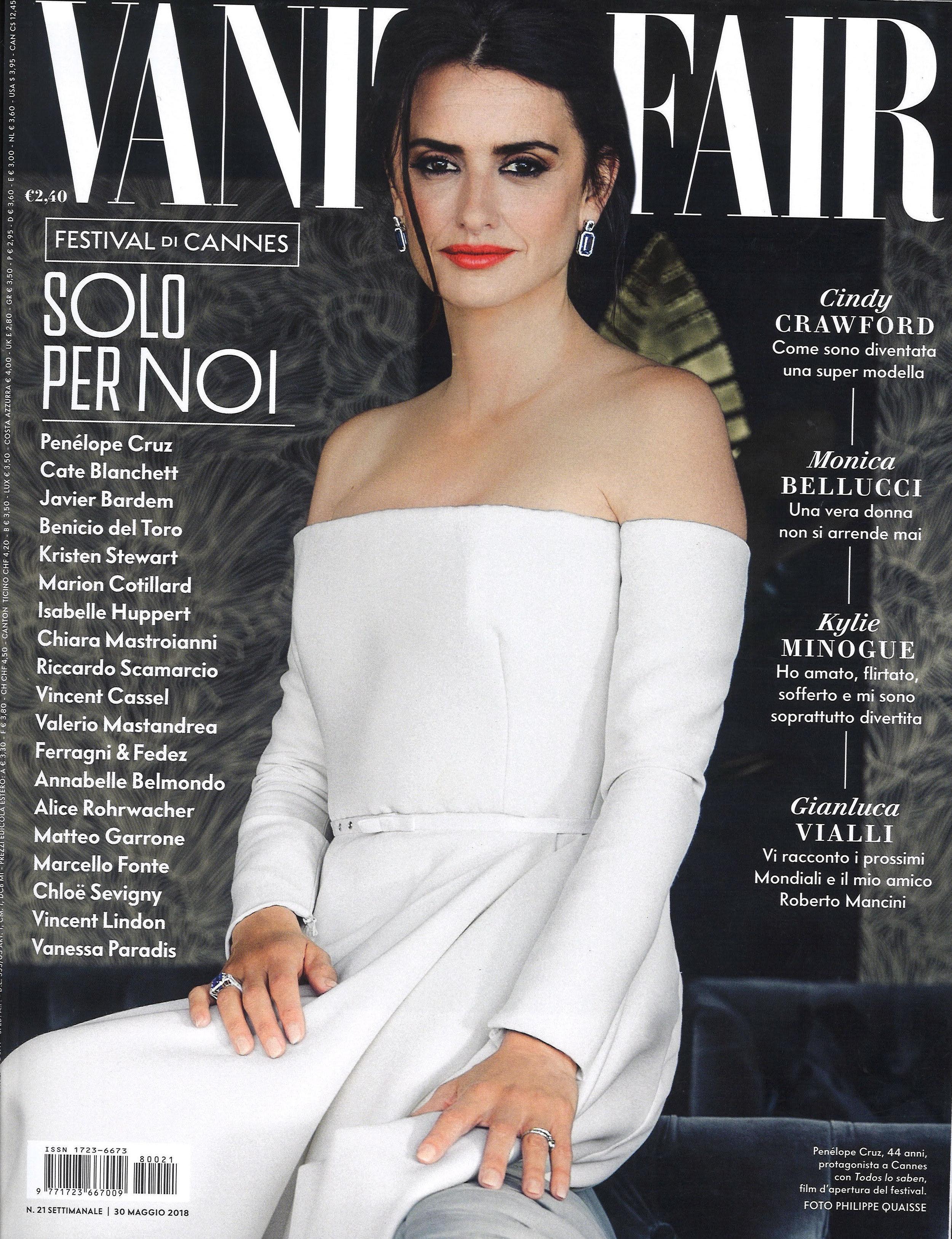 Vanity Fair Italia Cover