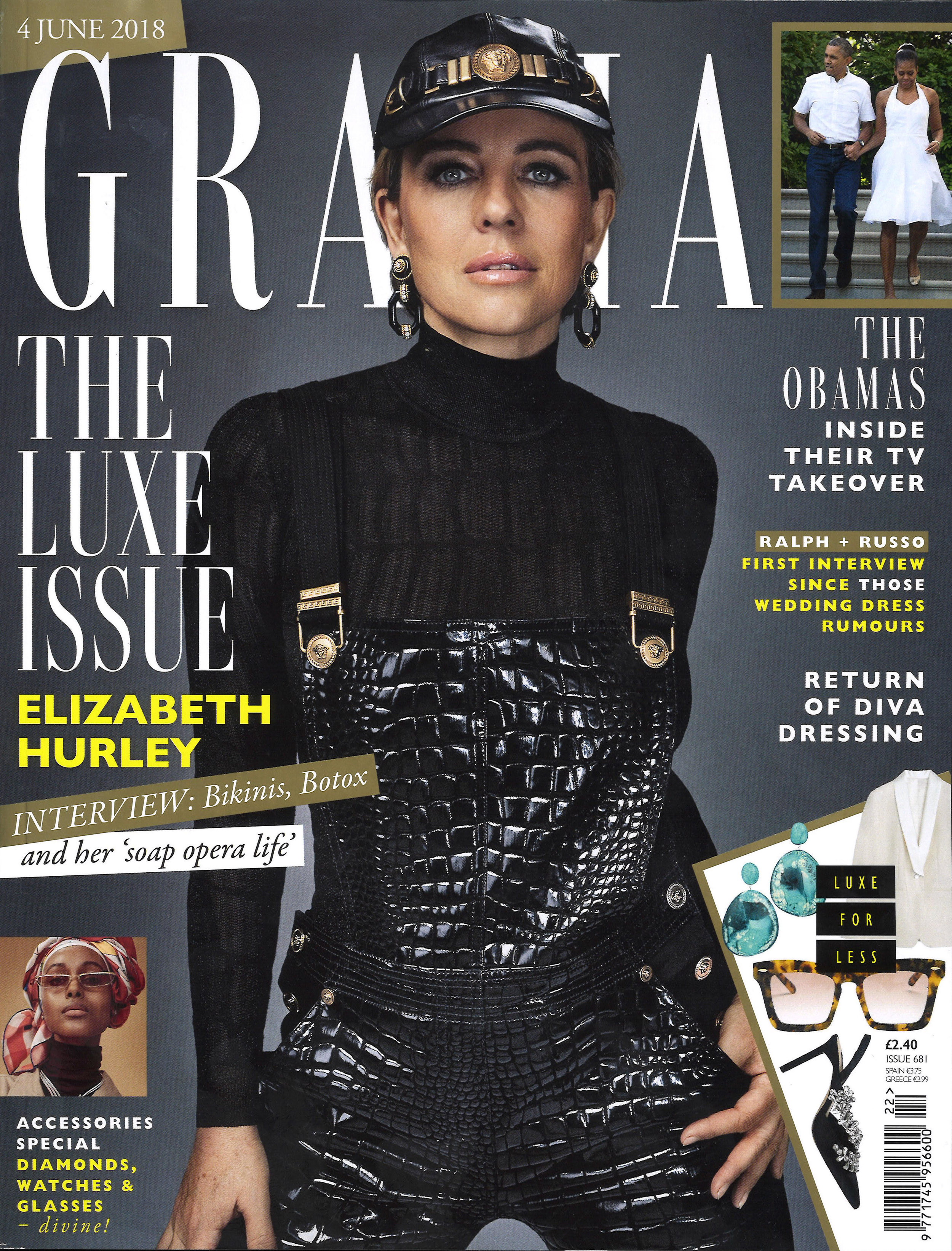 Grazia UK Cover
