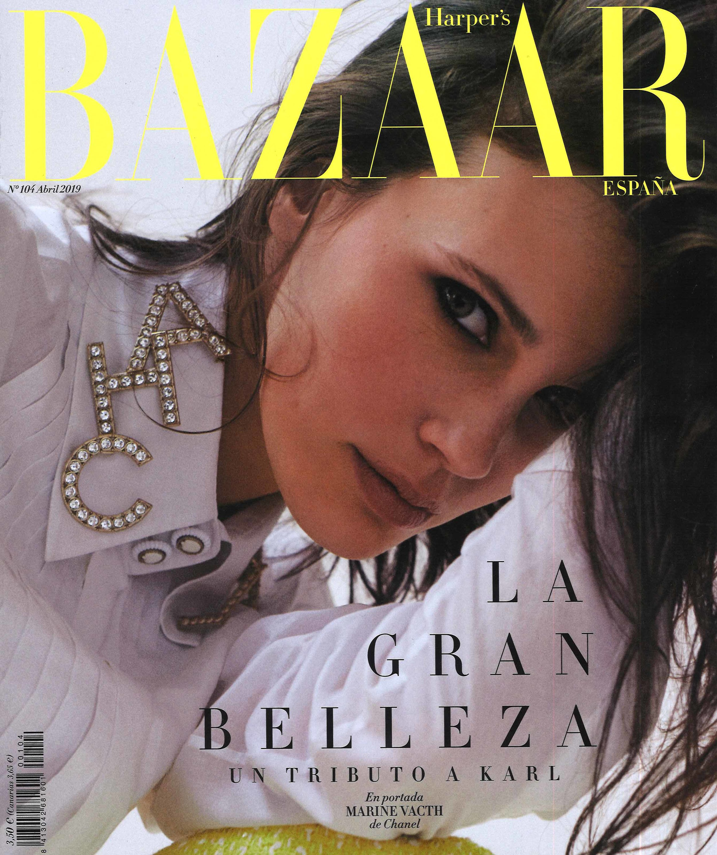 Harper's Bazaar Spain April 2019 Cover.jpg