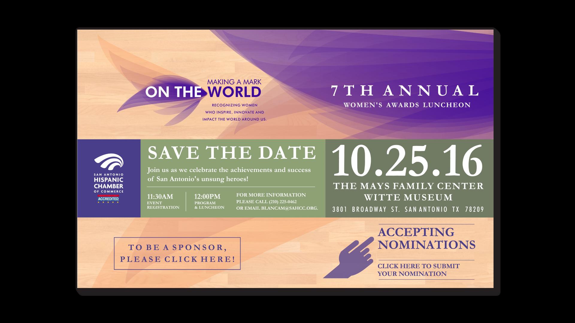 San Antonio Hispanic Chamber of Commerce 7th Annual Women's Awards Luncheon
