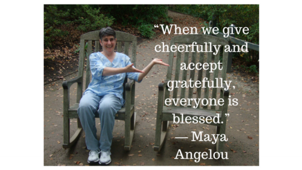 """""""When we give cheerfully and accept gratefully, everyone is blessed."""" ― Maya Angelou.png"""