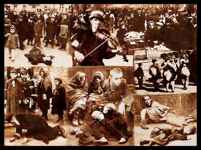 Warsaw Ghetto Street Scenes