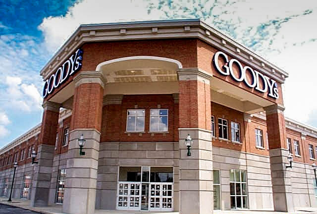 Goody's - Chattanooga, TN   We completed this Goody's as part of a revitalization of the Eastgate Mall in Chattanooga, TN in 1999.