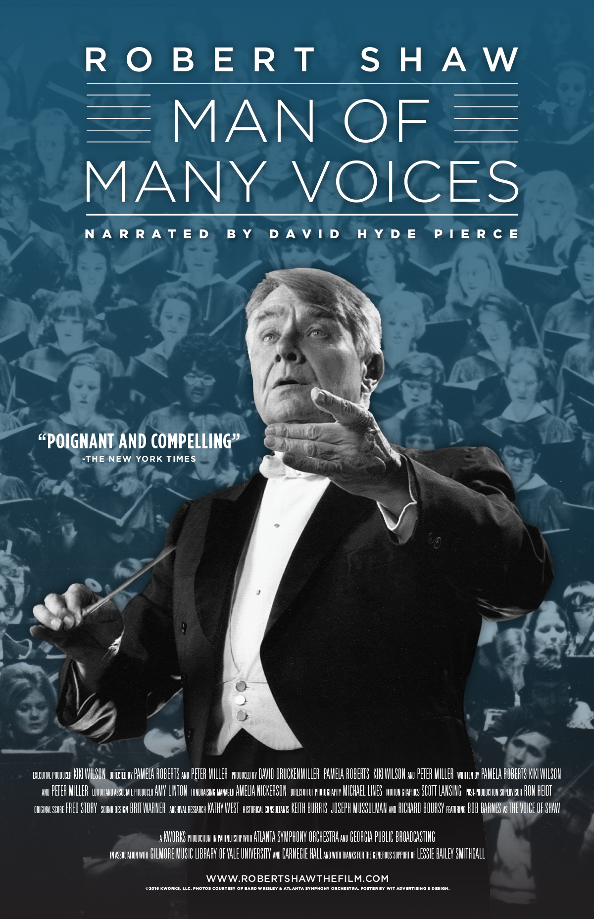 Robert Shaw: Man of Many Voices - PBS' American Masters in May