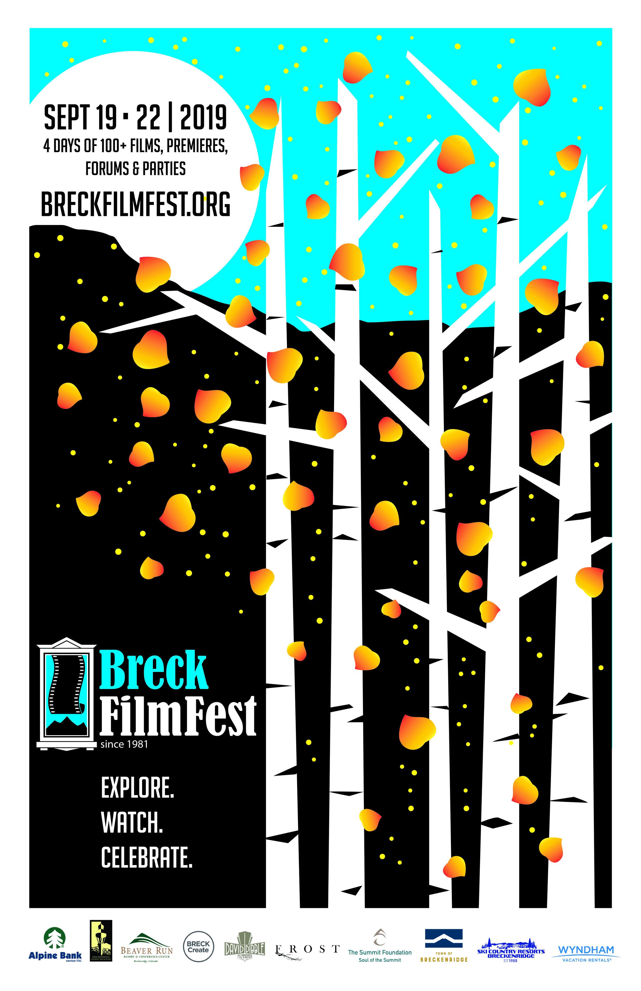 2019 BreckFilmFest Poster