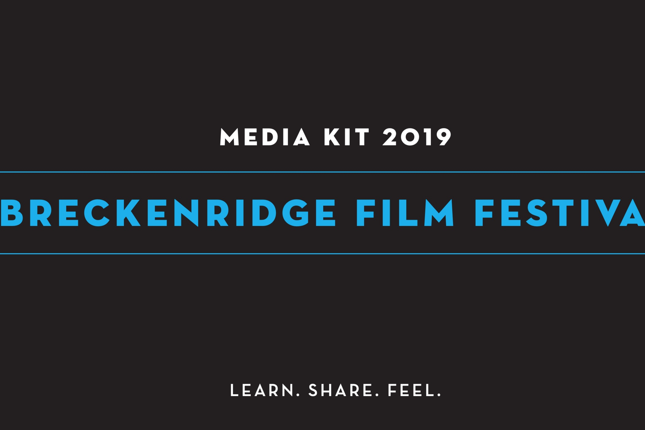 BFF ElectronicPress Kit - 2019 - We appreciate films and their creative minds behind them Learn more about our Organization!