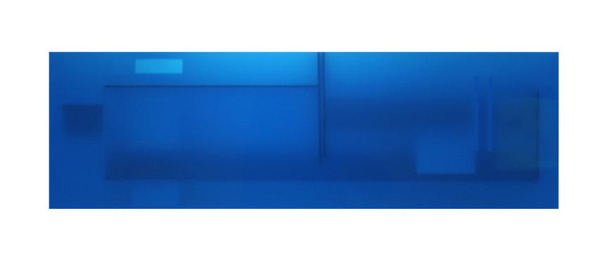 Zen Azure (37 x 12 x 2 inches)