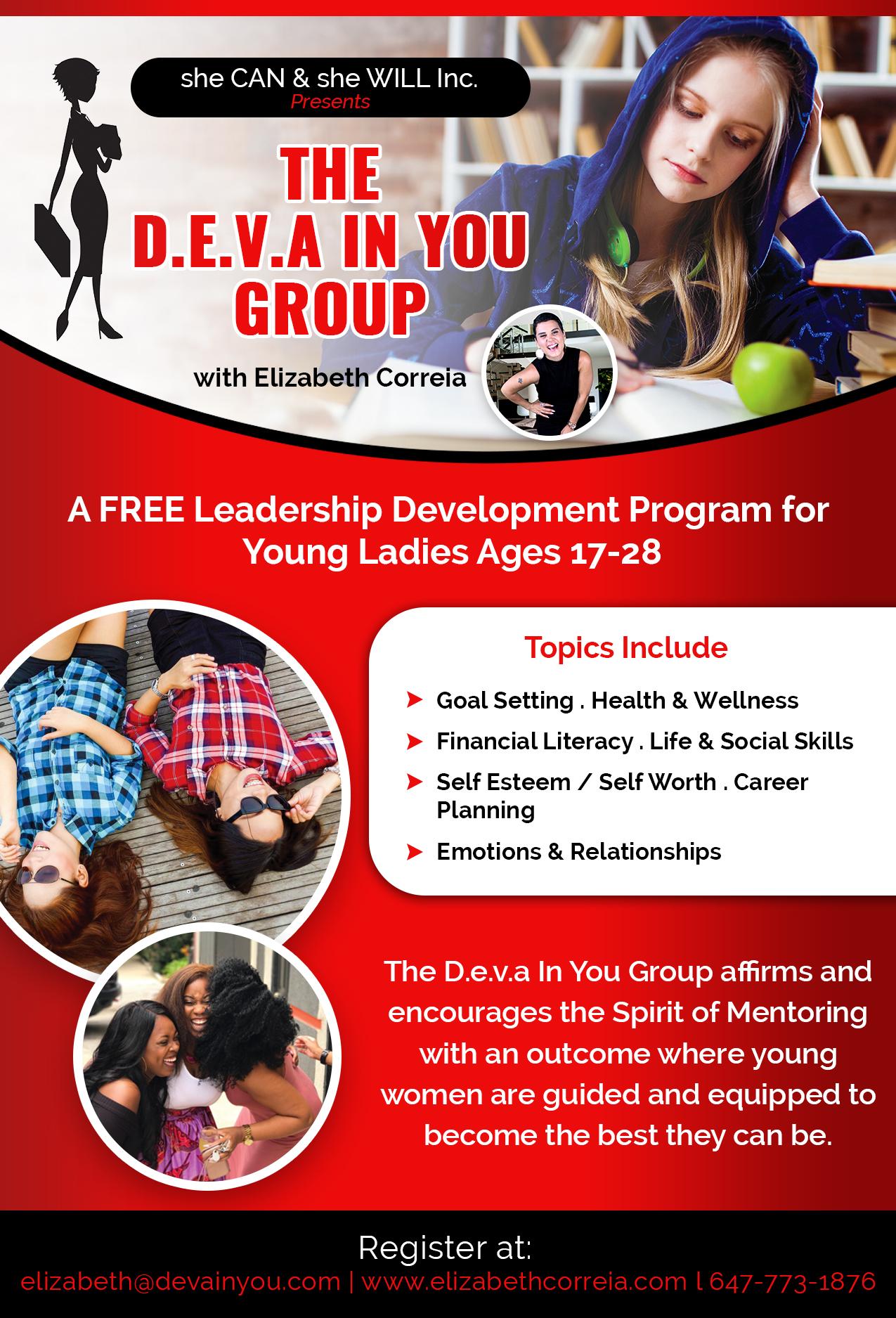The Deva in You Group - Leadership Development Program