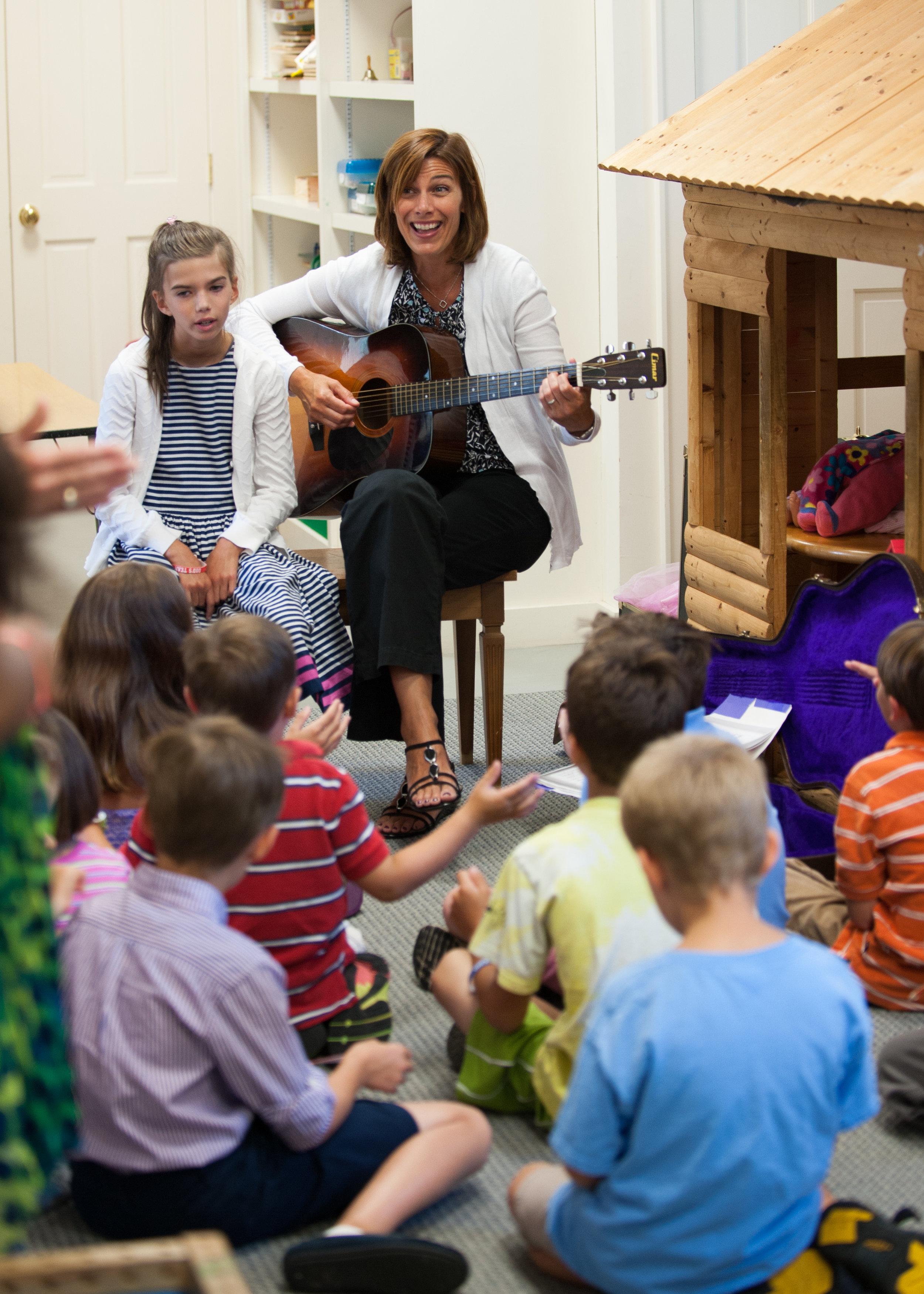 Music in Sunday School