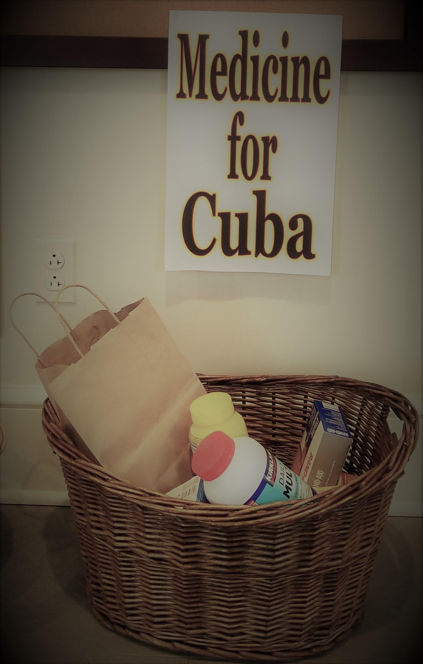 Medicine for Cuba -