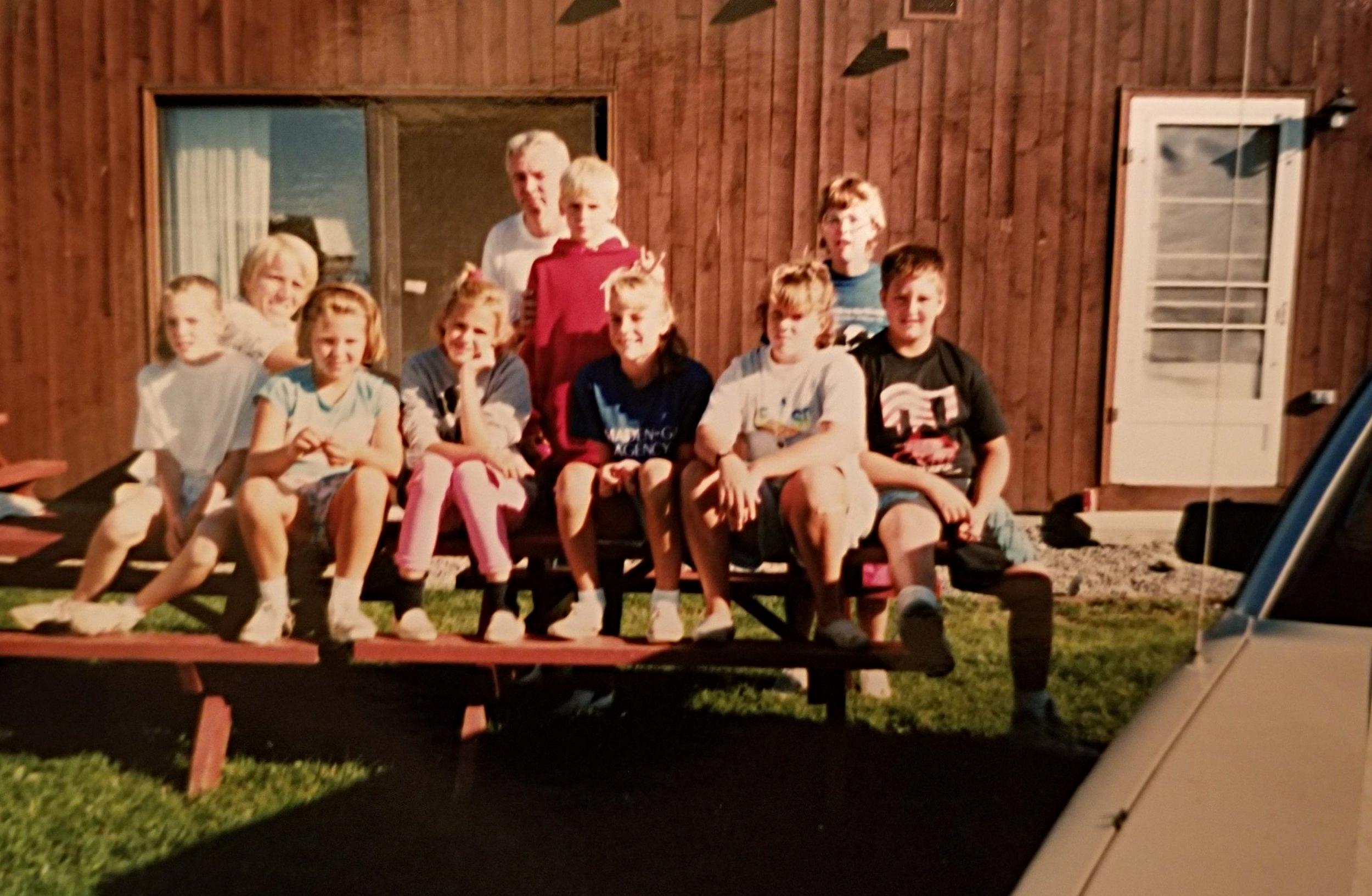 1990 Trip to Heifer with Tom Stephen