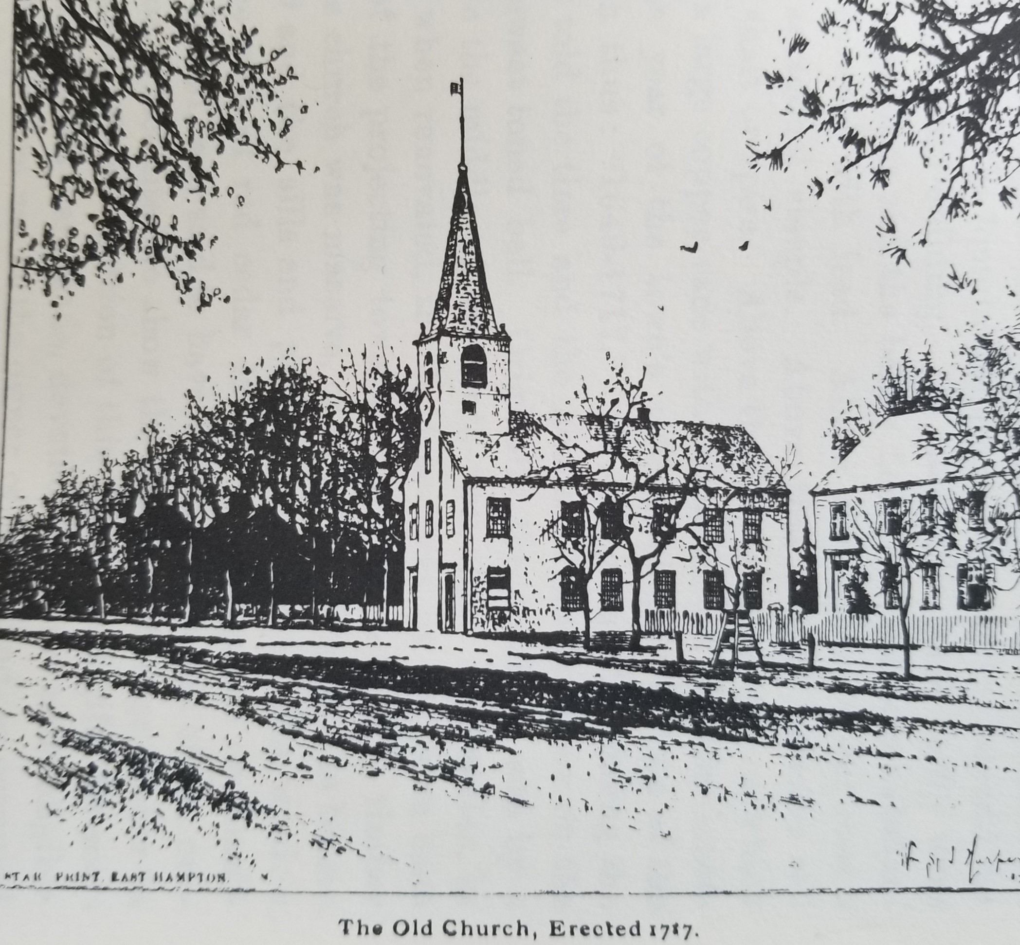 1717 Church Rev. Ely's Church 1836-1945