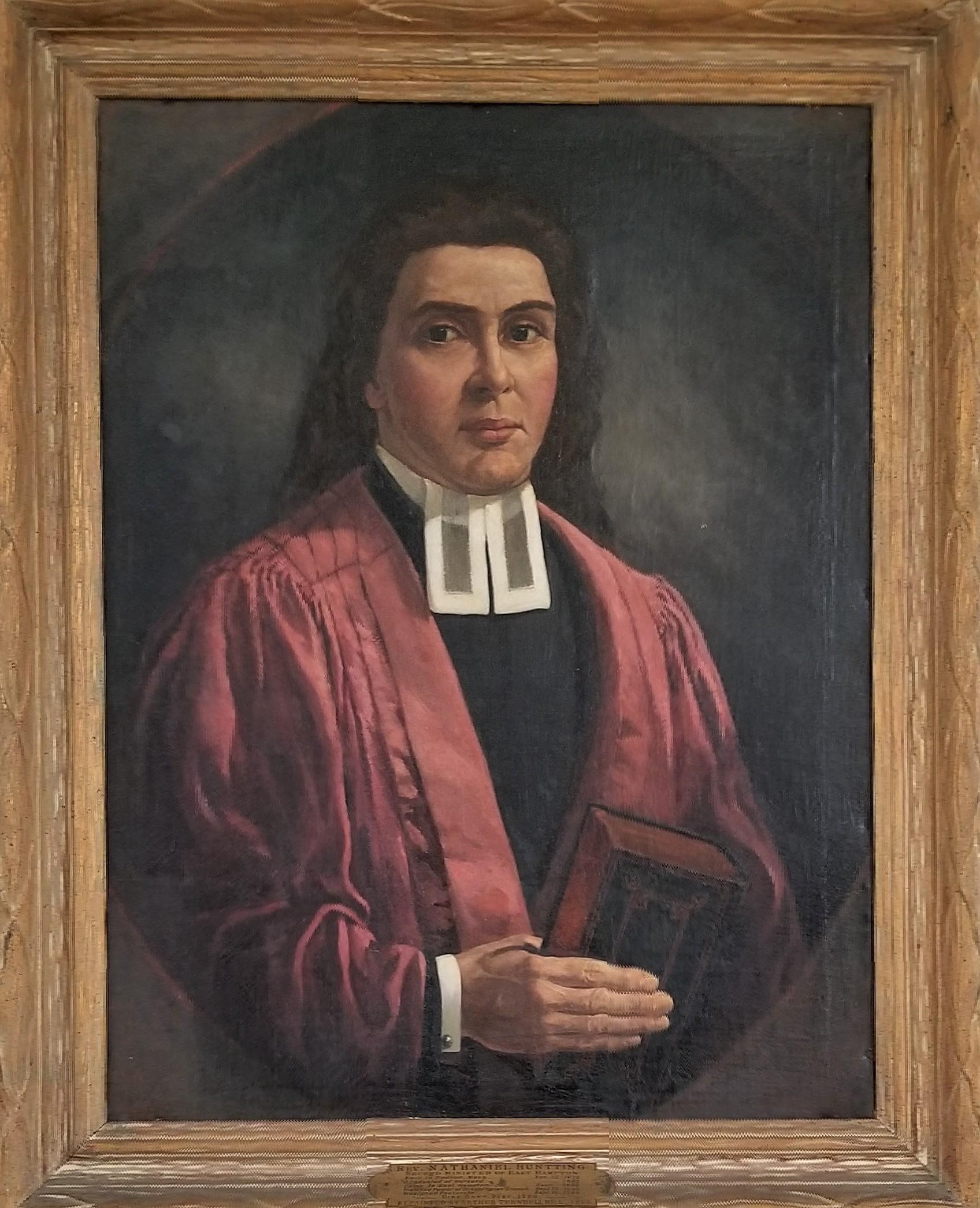 Rev. Nathaniel Huntting 1699