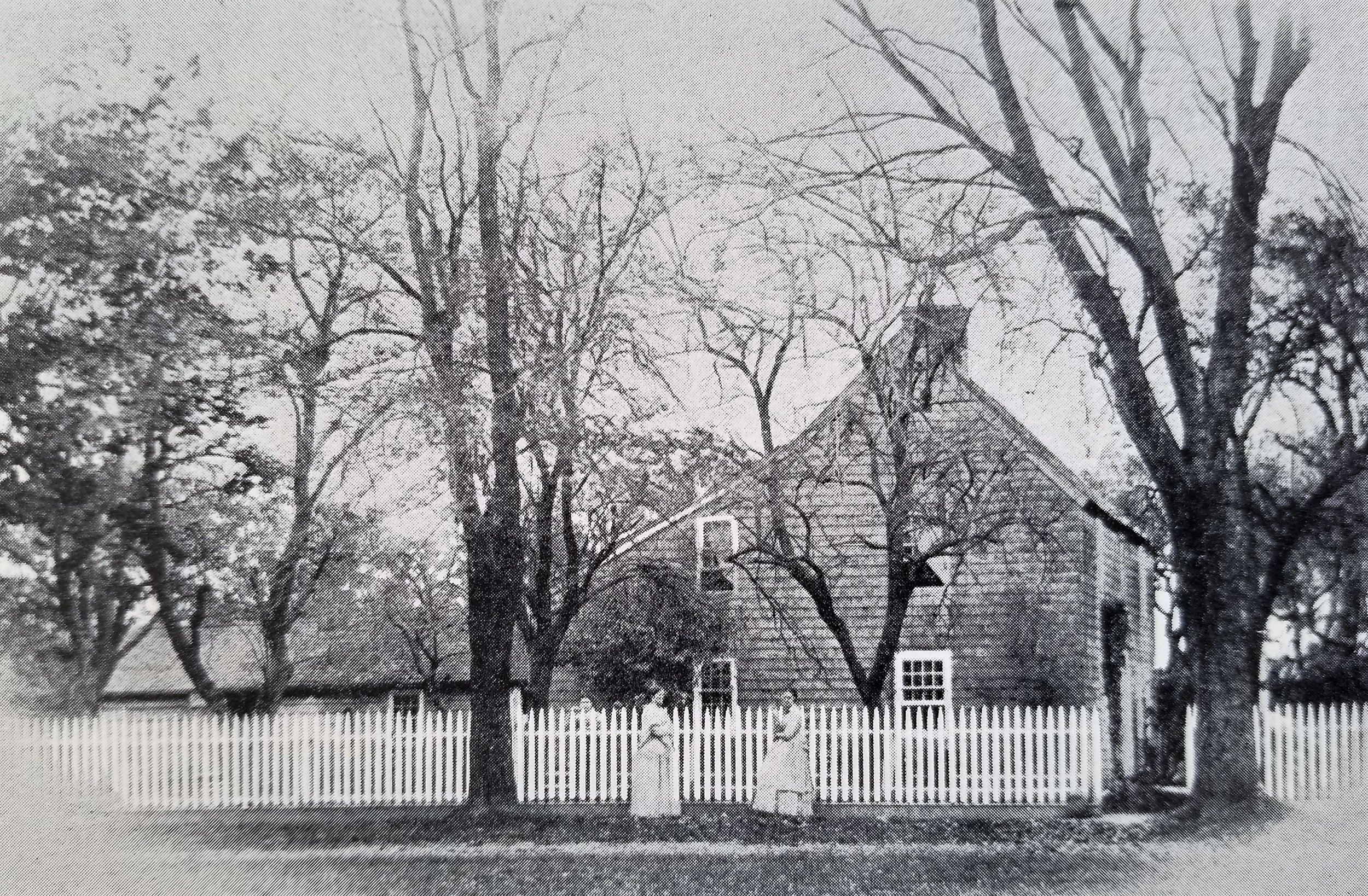The Huntting Inn, c. 1870 Nathaniel Huntting's home stood at the corner of Main Street & Huntting Lane in East Hampton. Enlarged over the years, it is known today as the Huntting Inn. For more info, read  Before it was the Huntting Inn , by Gina Piastuck, East Hampton Star, Nov 29, 2018