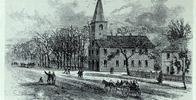 1717 Church where Rev. Ebenezer preached from 1811-1830.