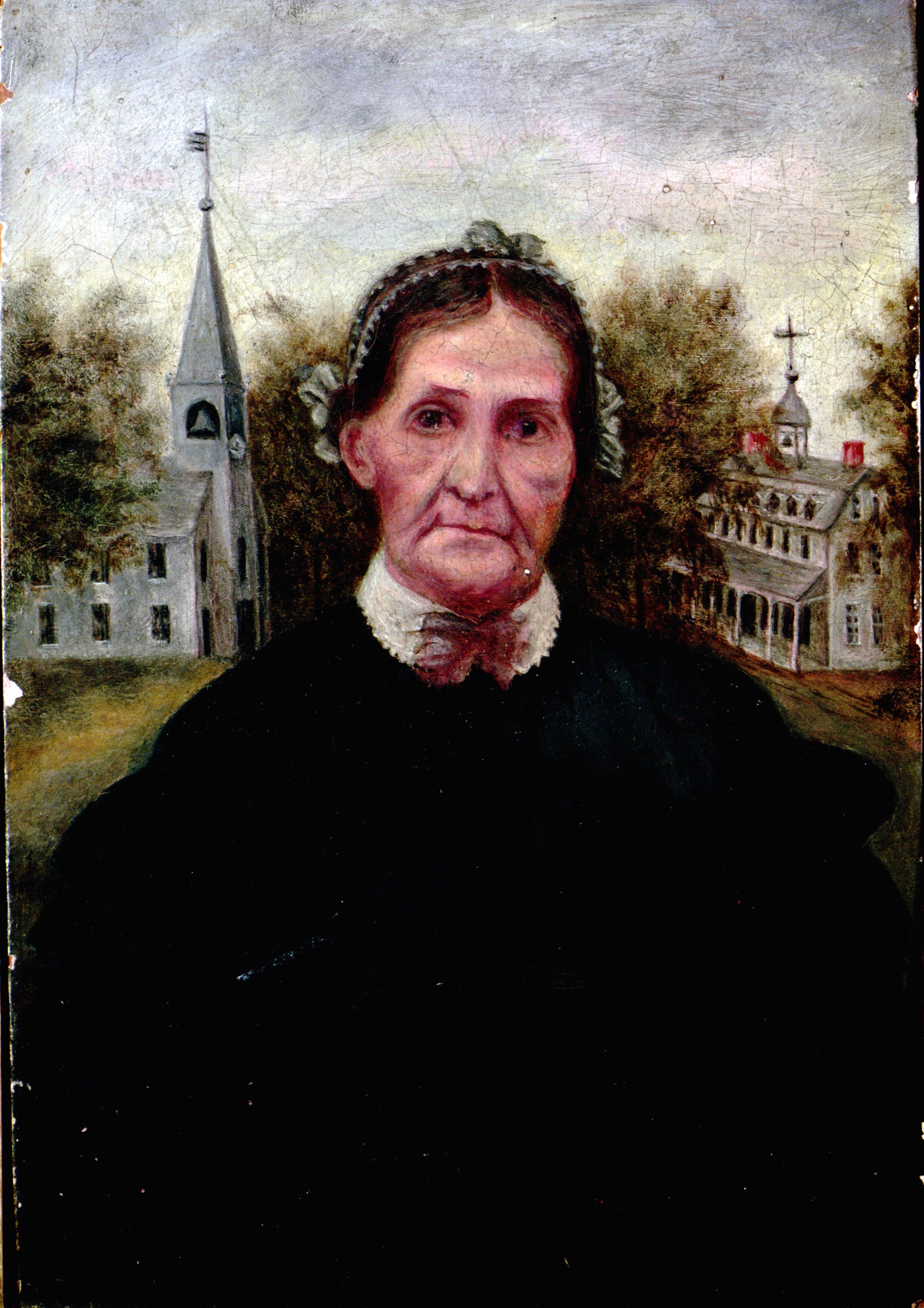 Portrait of Fanny Huntting