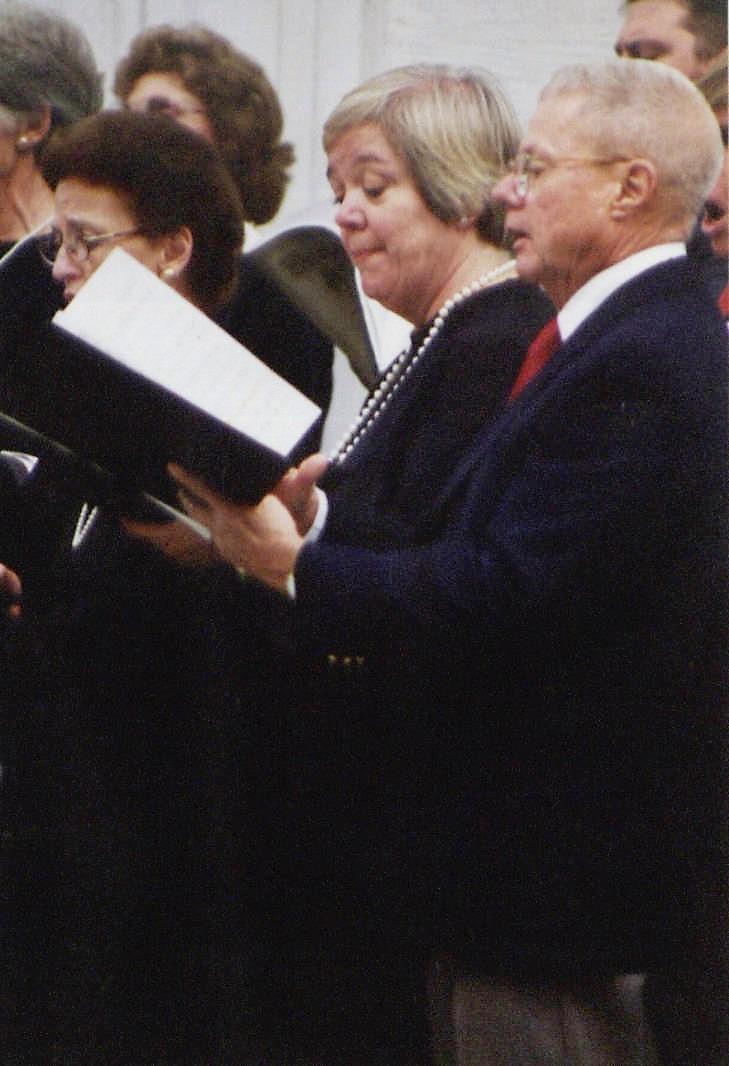 East Hampton Choral Society - Andrea Cooper & Bob Osborne