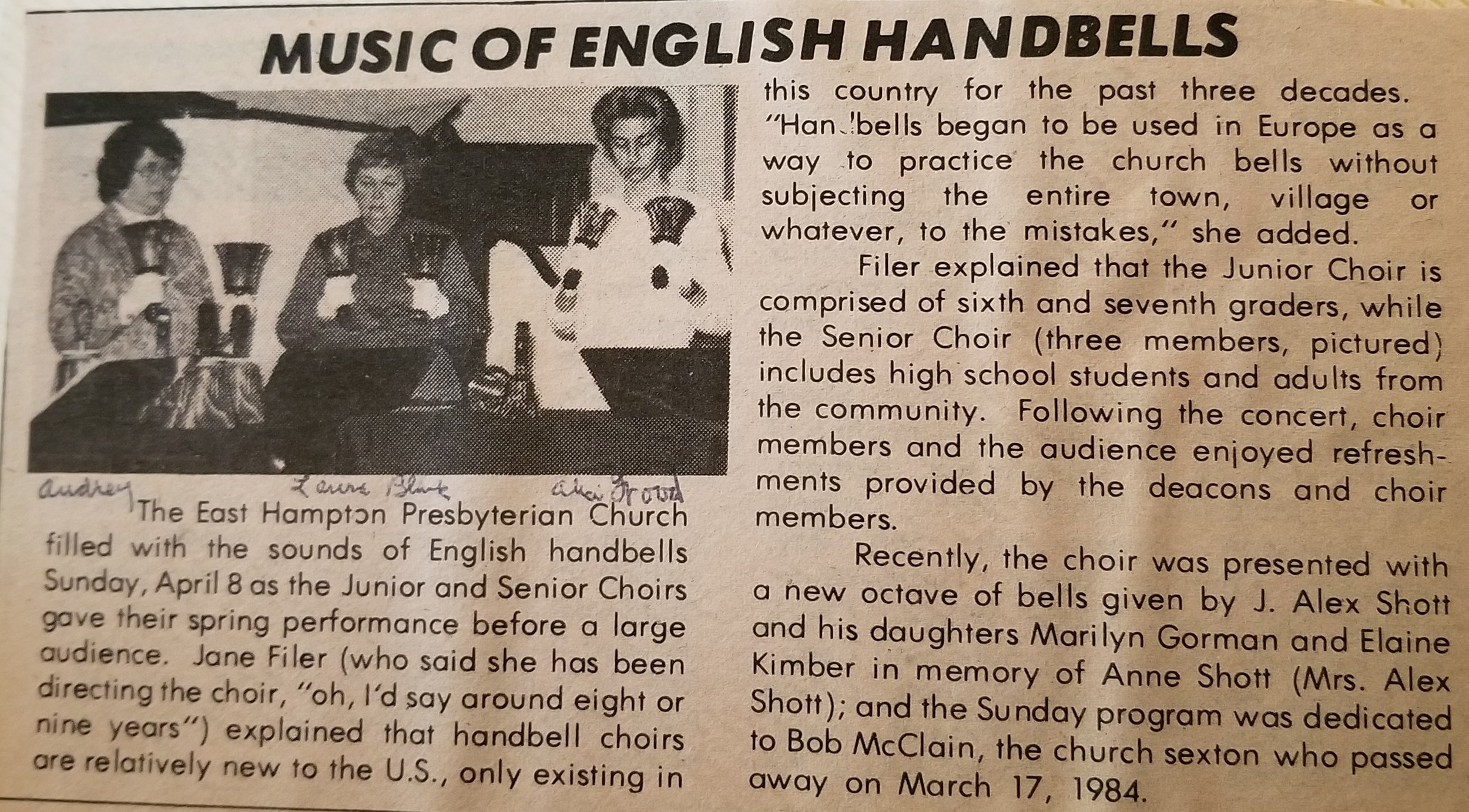 Music of English Handbells