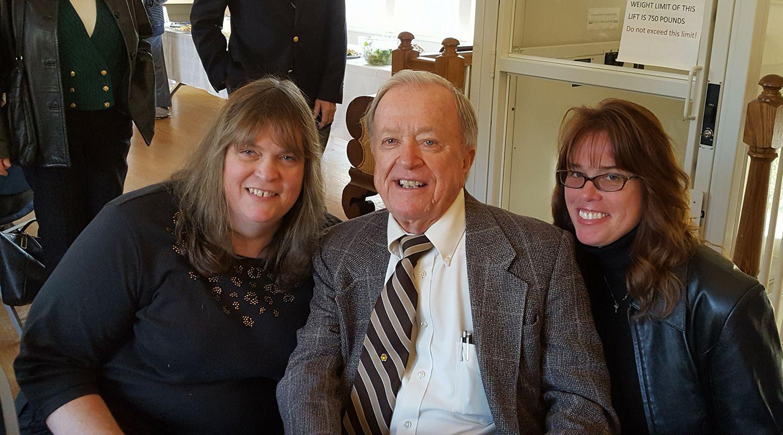 Rev. Fred Schulz visits East Hampton 2018