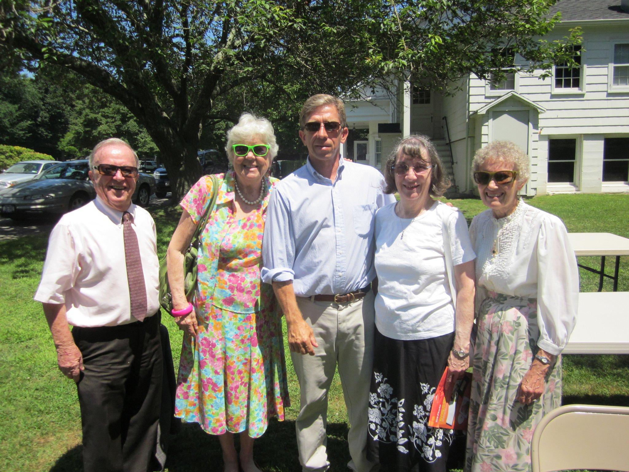 2011 visit to East Hampton