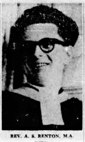 1952 Rev Renton accepts Call to Verdun near Montreal