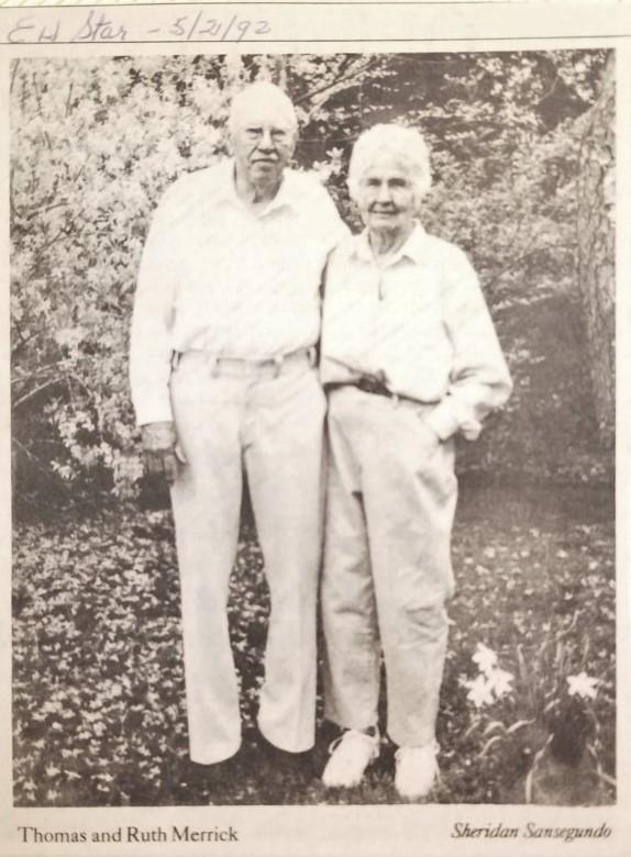 Thomas and Ruth Merrick